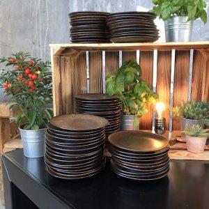Sinnesfreunde Catering München Ausstattung Gläser Geschirr Craft Dekoration