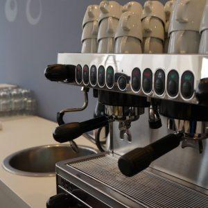 Sinnesfreunde Catering München Ausstattung Siebträgermaschine