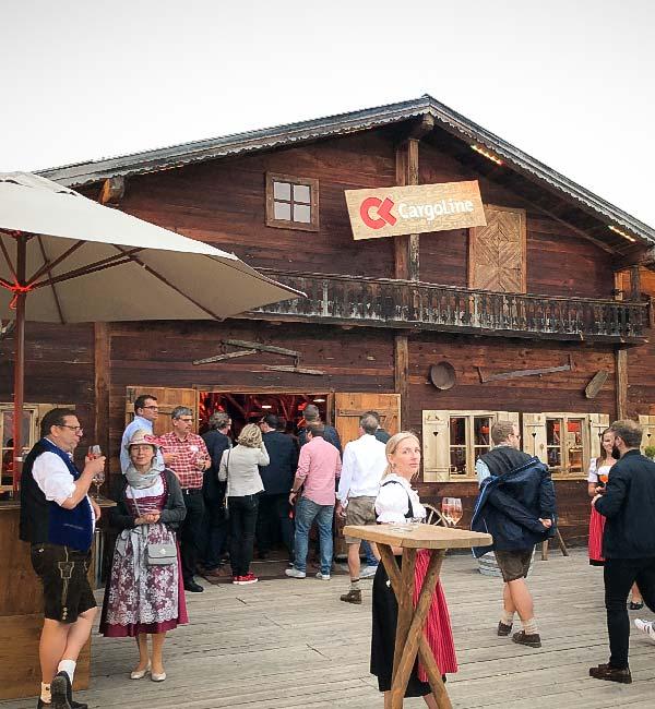 Sinnesfreunde Catering München Konferenz Firmenfeier Alm