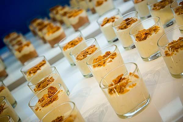Sinnesfreunde Catering München Firmenfeier Speisen