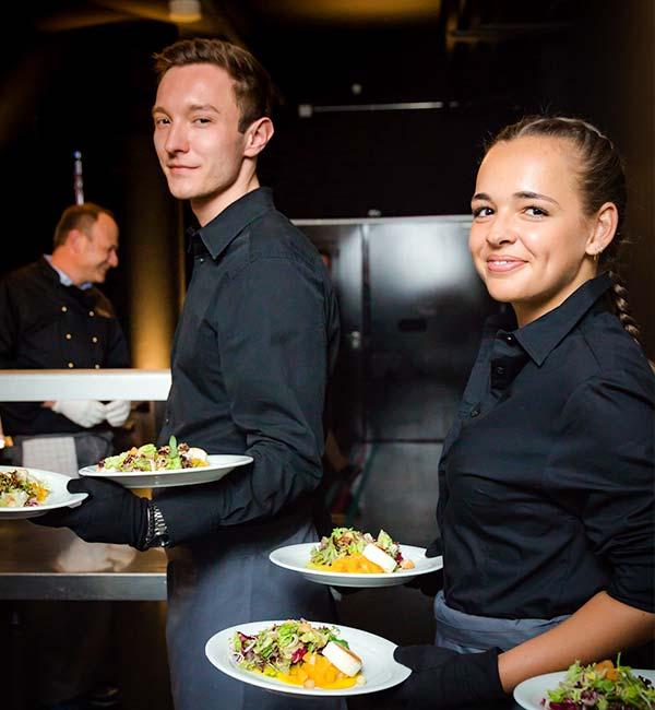 Sinnesfreunde Catering München Service Menü Personal