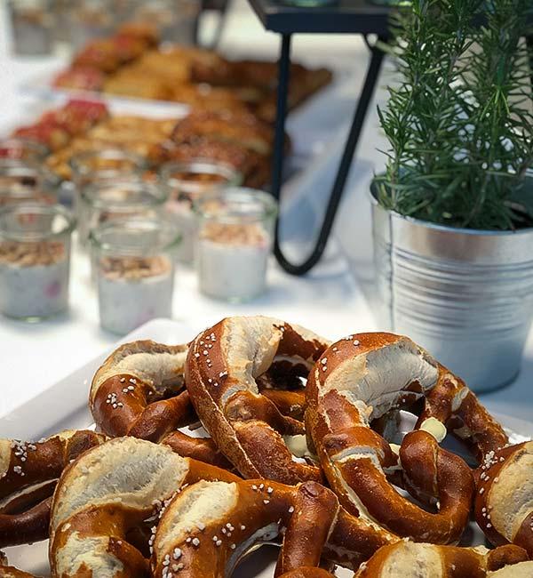 Sinnesfreunde Catering München Konferenz Speisen