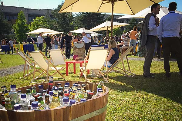 Sinnesfreunde Catering München Sommerfest Business Catering