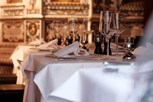 Sinnesfreunde Catering München Fullservice Dekoration Tischwäsche Ausstattung