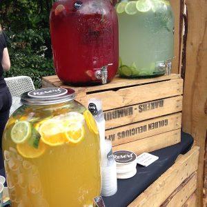 Sinnesfreunde Catering München Getränke Limonade Marktstand Fullservice