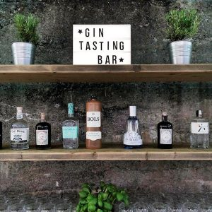 Sinnesfreunde Catering München Fullservice Gin Bar Getränke Dekoration Details