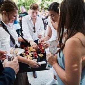 Sinnesfreunde Catering München Fullservice Personal Service Fingerfood