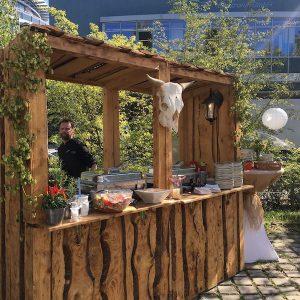 Sinnesfreunde Catering München Speisen Buffet Fullservice Marktstand