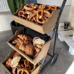 Sinnesfreunde Catering München Marktstand Dekoration