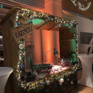 Sinnesfreunde Catering München Buffet Speisen Dekoration Weihnachtsfeier