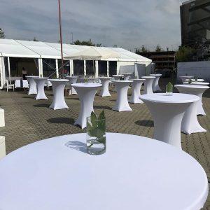 Sinnesfreunde Catering München Business Event Tische Stühle Dekoration