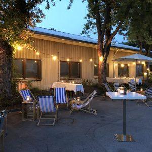 Sinnesfreunde Catering München Dekoration Strad Beach Liegestühle Privat