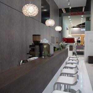 Sinnesfreunde Catering München Messe International Barcelona MWC Bar Kaffee Siebträgermaschine