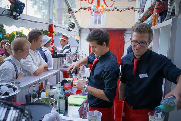 Sinnesfreunde Catering München Personal Barkeeper Party Privat