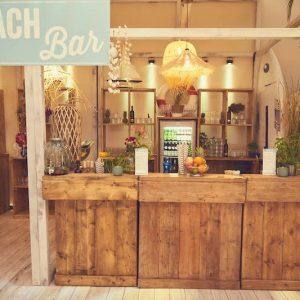Sinnesfreunde Catering München Business Event Beach Bar Getränke Dekoration