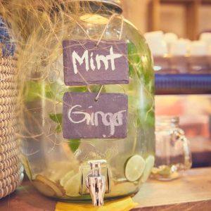 Sinnesfreunde Catering München Business Event Getränke Limonade Frisch Bar