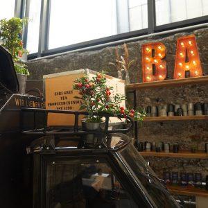 Sinnesfreunde Catering München Kaffee Ape Dekoration Bar Craft Geschirr