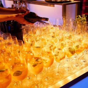Sinnesfreunde Catering München Business Event Getränke Service Aperitif Bar