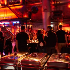 Sinnesfreunde Catering München Party Kohlebunker Buffet Food Speisen