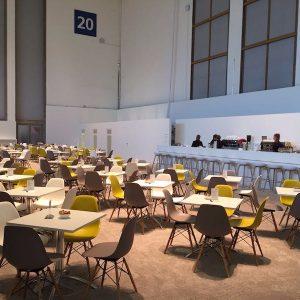 Sinnesfreunde Catering München Messe IFA Berlin Bar Kaffee Siebträgermaschine