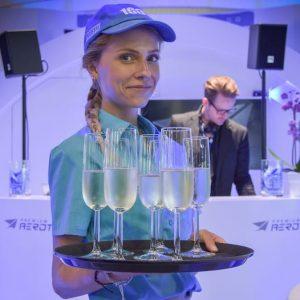 Sinnesfreunde Catering München Messe International Service Messeparty Personal DJ Musik Licht Full Service Getränke