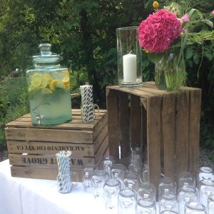Sinnesfreunde Catering München Privat Party Garten Dekoration Limonade Getränke