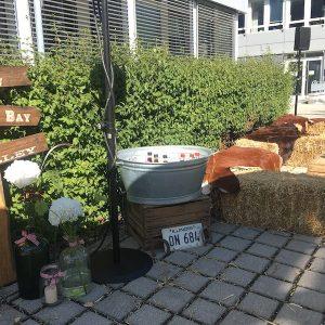 Sinnesfreunde Catering München Privat Garten Party Getränke Dekoration