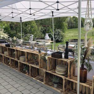 Sinnesfreunde Catering München Hochzeit Privat Buffet Dekoration