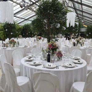 Sinnesfreunde Catering München Hochzeit Privat Botanikum Location Dekoration