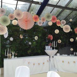 Sinnesfreunde Catering München Hochzeit Privat Dekoration Location Buffet Botanikum
