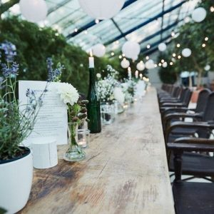 Sinnesfreunde Catering München Hochzeit Mobiliar Privat Dekoration Stuhl Tisch Botanikum Location