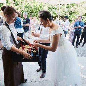 Sinnesfreunde Catering München Privat Hochzeit Service Fingerfood Personal