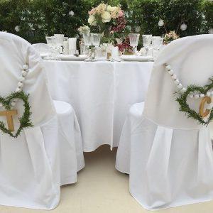 Sinnesfreunde Catering München Hochzeit Privat Mobiliar Dekoration Stuhl Tisch
