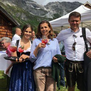 Sinnesfreunde Catering München Aperitif Bayrisch Privat Jubiläum Berge Hütte Fullservice