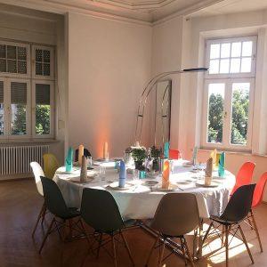 Sinnesfreunde Catering München Privat Geburtstag Jubiläum Mobiliar